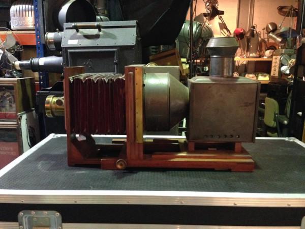 3: Vintage plate camera / projector