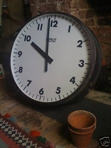1: Vintage Railway Station Clock