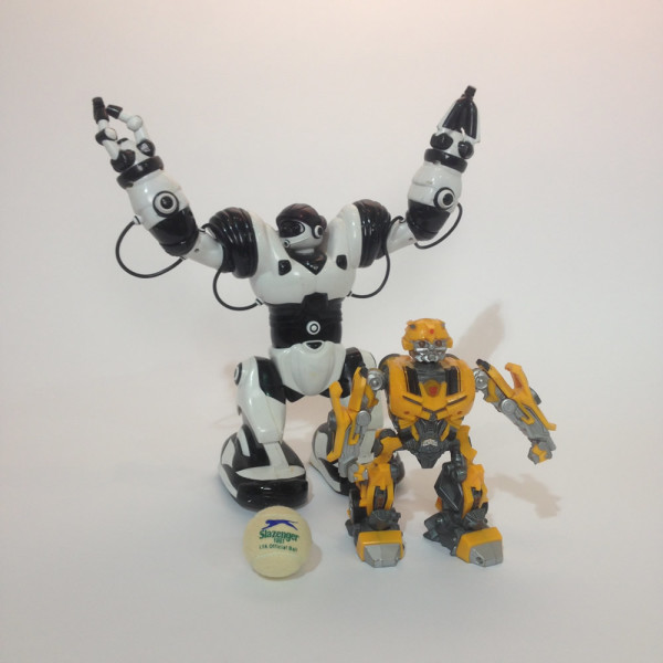 3: Toy Robot Doll