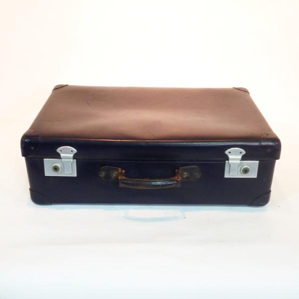 4: Blue Hard Shell Suitcase