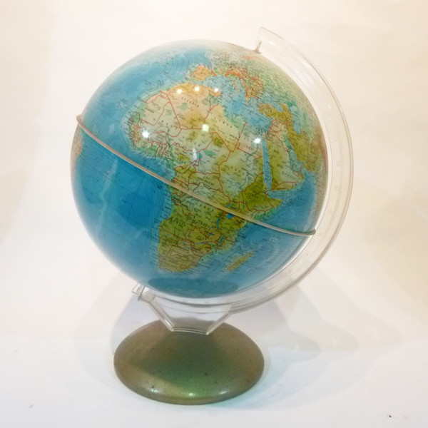 2: Vintage globe