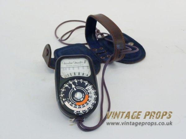 2: Vintage light meter