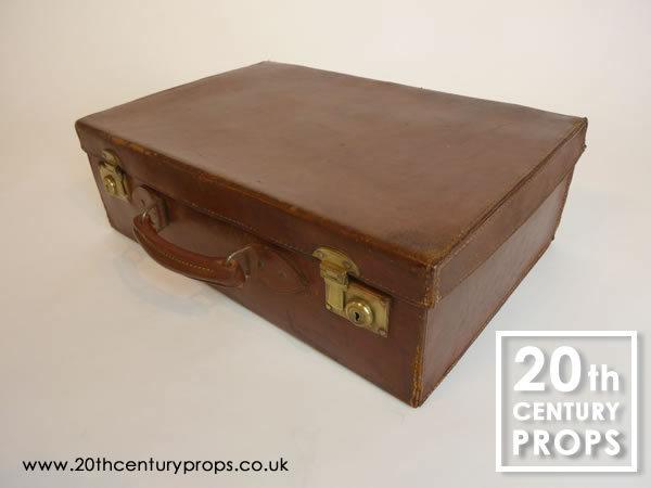 2: Vintage leather case