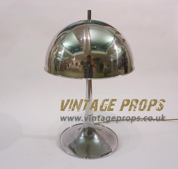 2: Chrome desk lamp
