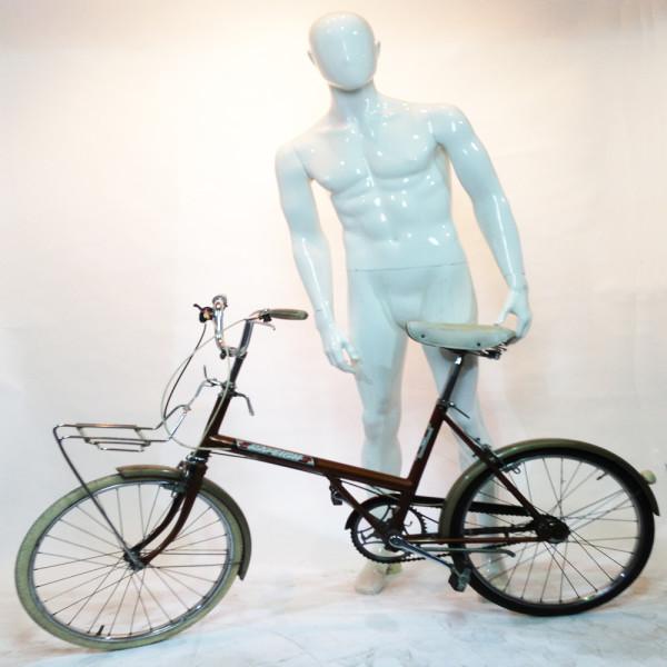 3: Orange Retro Raleigh Bicycle