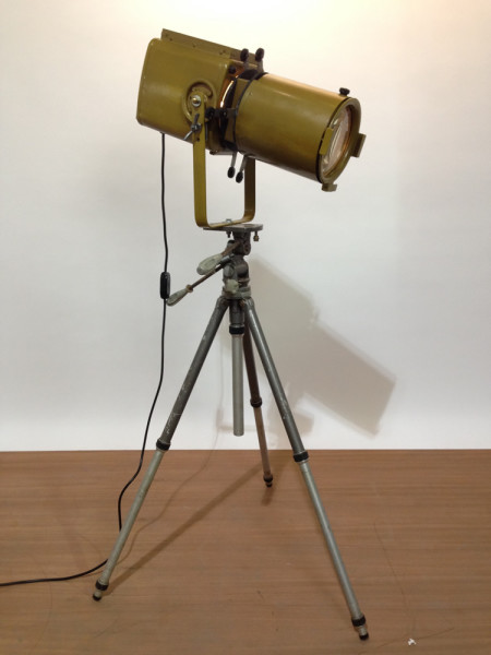 4: Vintage Industrial 'Strand Electric' Spotlight