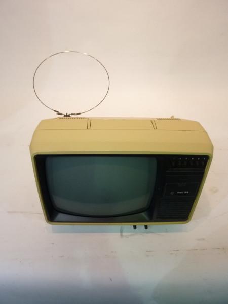 2: White 1980's Portable TV