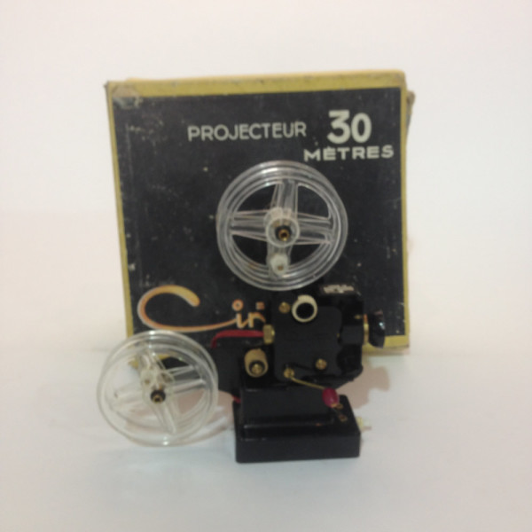 4: Small Plastic 16mm Projector