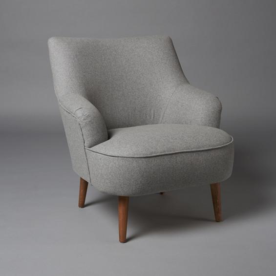 2: Cocktail armchair - Grey
