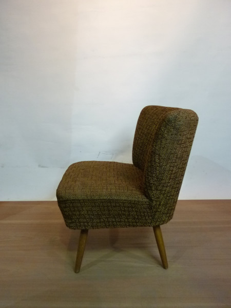 2: 1950's Mid-Century Cocktail Lounge Chair