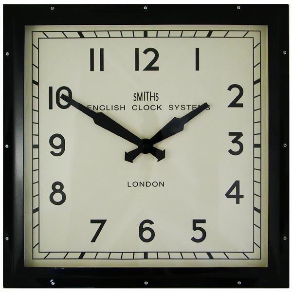 1: Smiths Industrial Wall Clock
