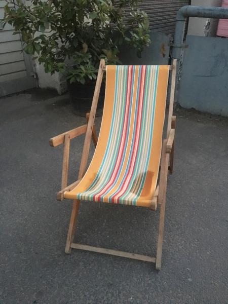 19: Vintage Deckchairs - QTY 20