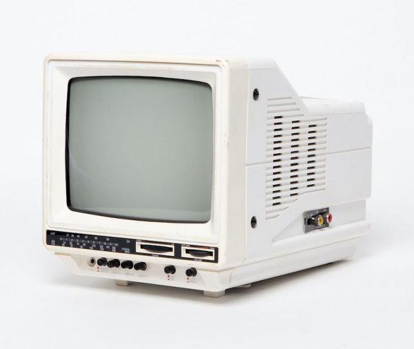 2: Non practical Sony mini portable white TV