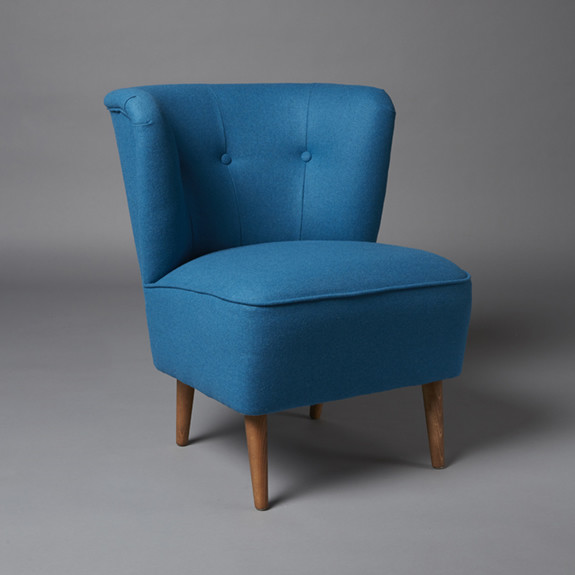 2: Cocktail armchair - Turquoise