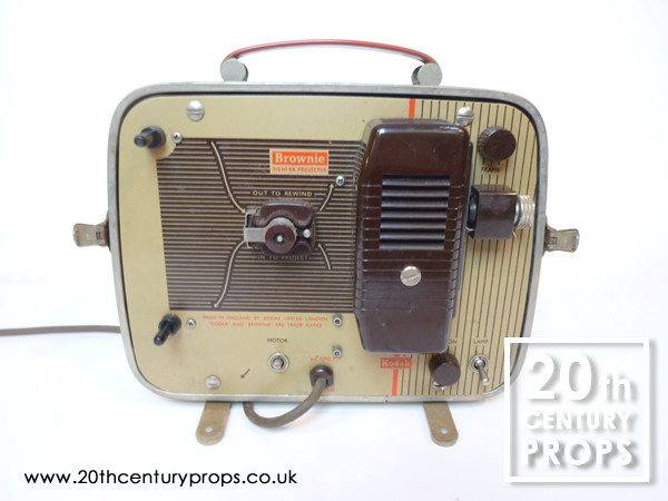 1: Vintage movie projector