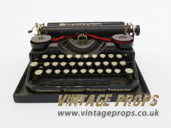 2: Non practical vintage Typewriter