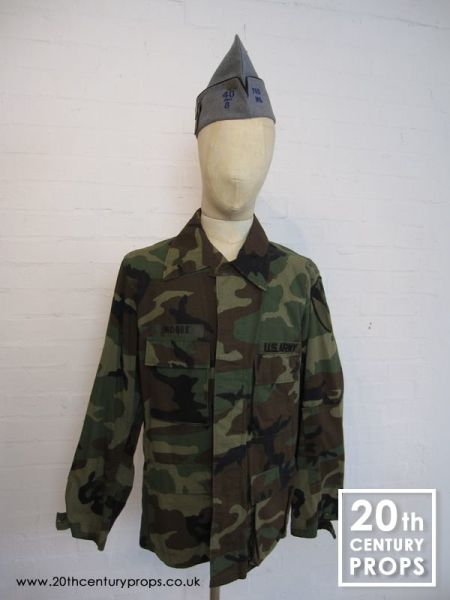 2: US Army jacket and beret