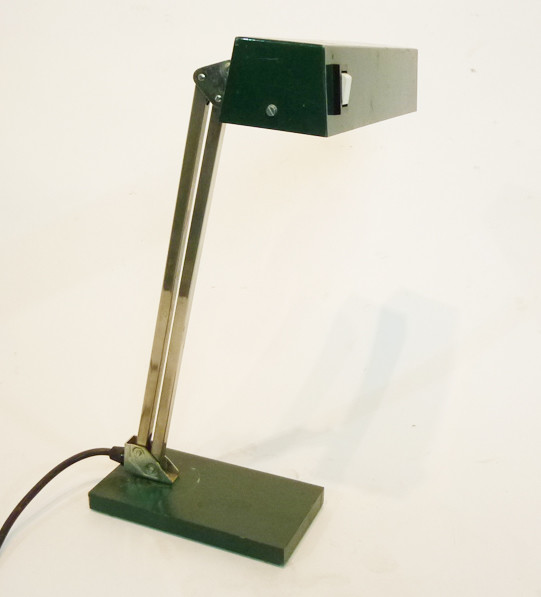2: Black Angular Low Light Desk Lamp