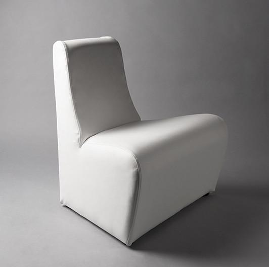 3: White Small Sofa Modular Chair