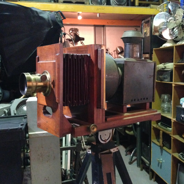 5: Vintage plate camera / projector