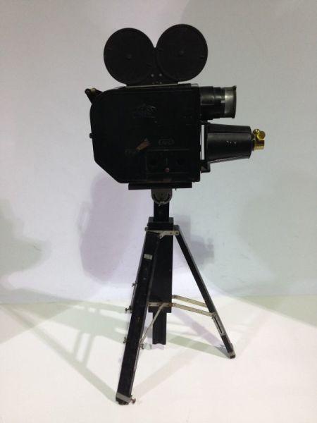 2: Vintage movie camera projector