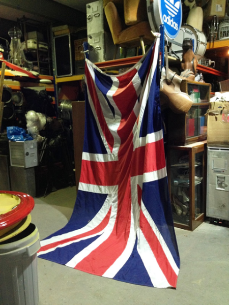 1: Union Jack flag - Large