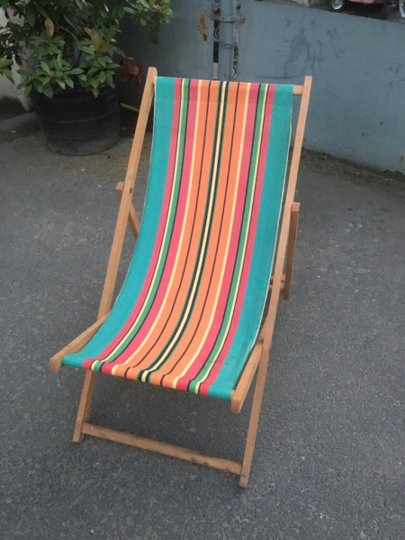 21: Vintage Deckchairs - QTY 20