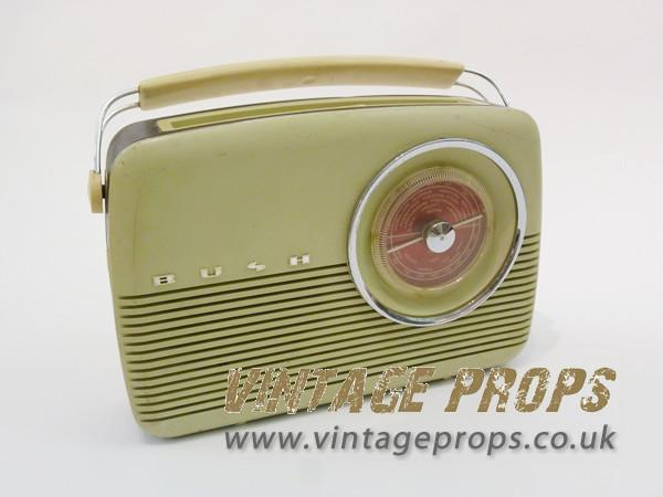 1: Bush vintage radio
