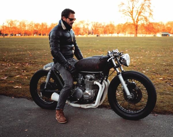1: Vintage motorcycle
