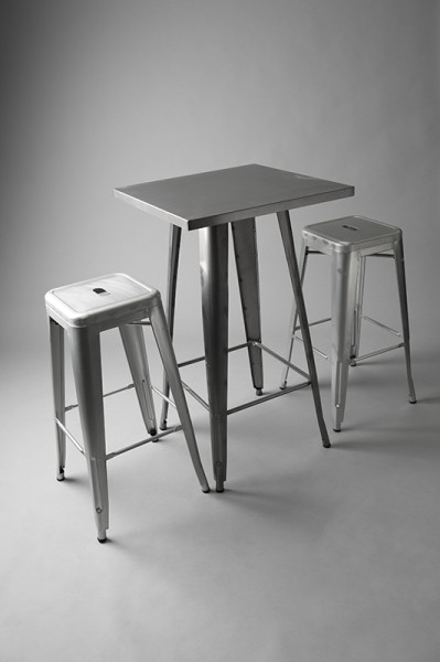 6: Tolix Poseur Table