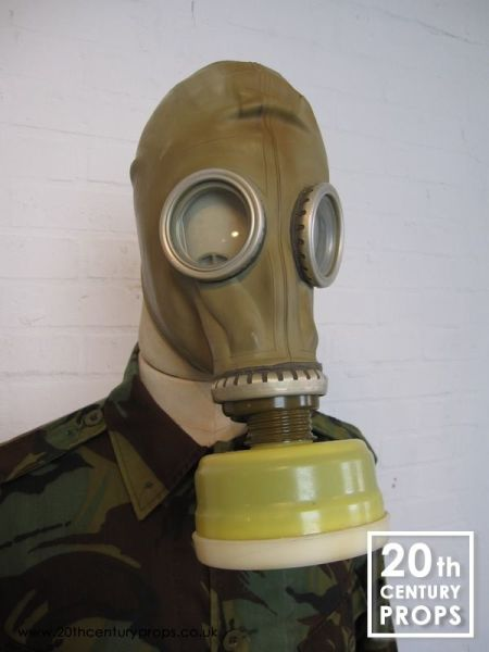 2: Military gas mask