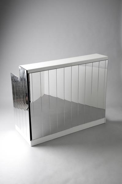 2: Mirrored DJ Booth - White