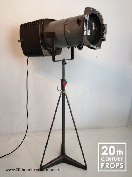 1: Large theatre spotlight by Strand