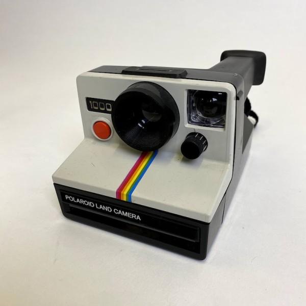 3: Vintage Polaroid Land camera