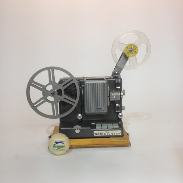1: Noris Plank 8mm Film Portable Projector with Case