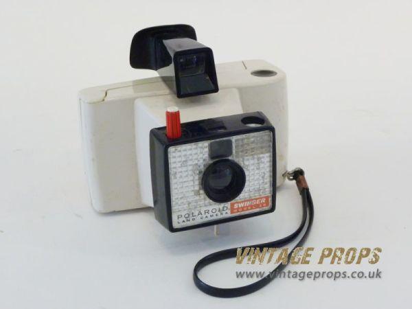 1: Vintage polaroid camera