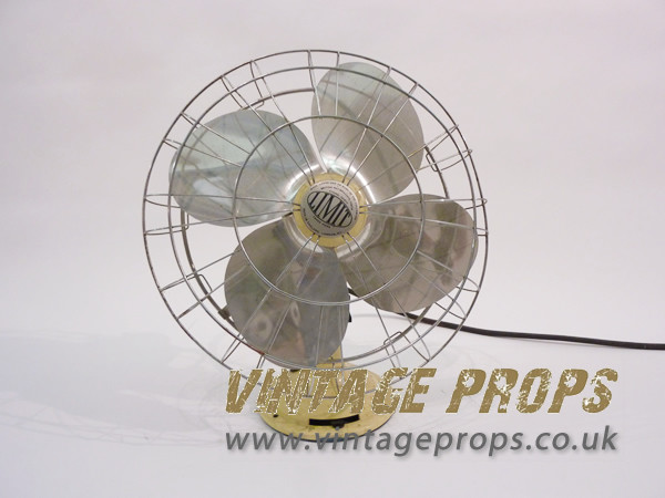 1: Vintage industrial fan