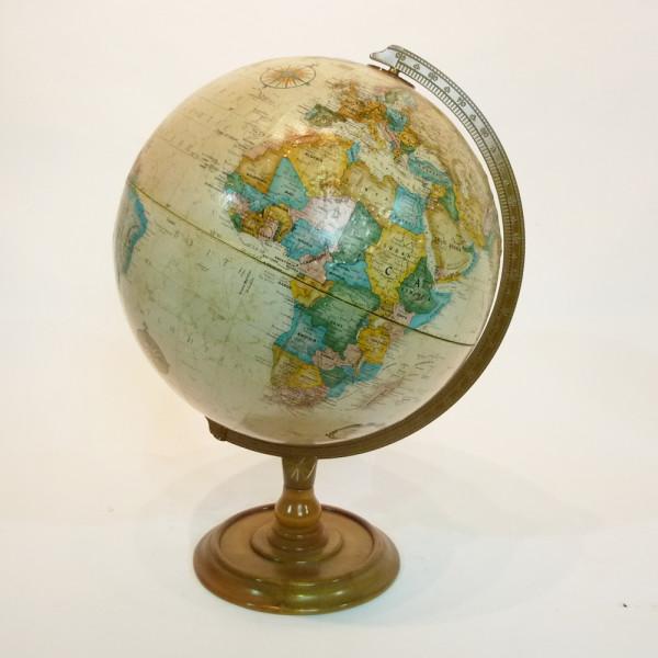 1: Vintage globe - Cream