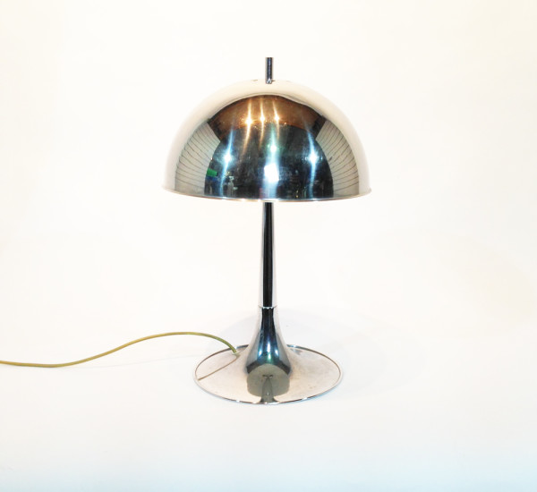 1: Chrome Dome Desk lamp