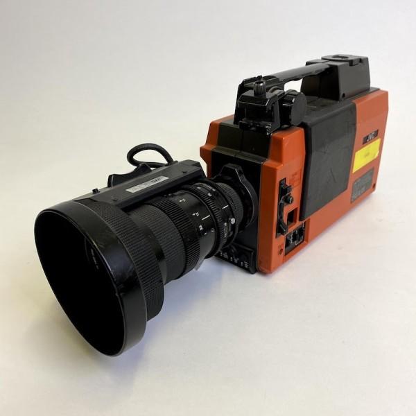 4: Non practical retro 'JVC' film camera with tripod