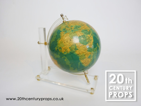 1: 1960's Globe on perspex stand