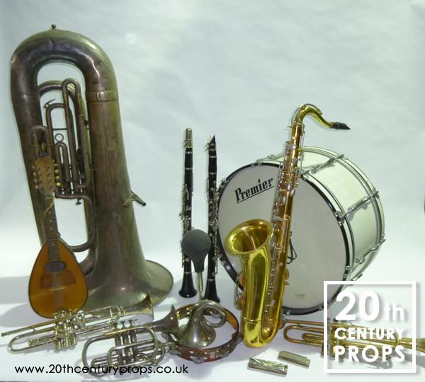 1: Vintage Musical Instruments