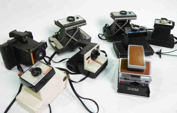2: Retro Polaroid Cameras