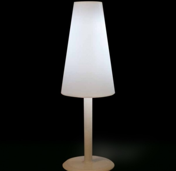 5: Large contemporary floor lamp