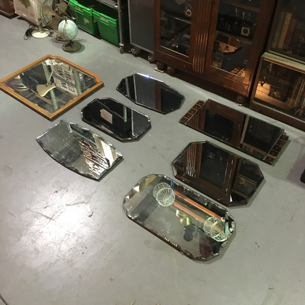 1: Vintage wall mirrors
