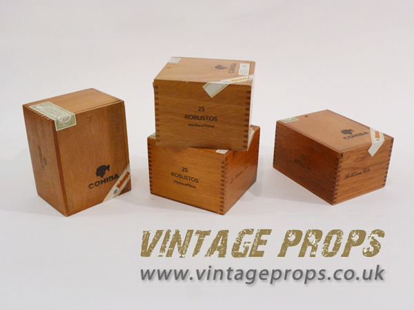 1: Wooden Cigar Boxes