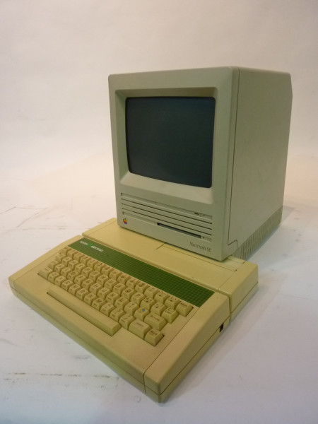 4: Retro Apple Mac Computer 1980 Edition with Acorn Computer as Keyboard