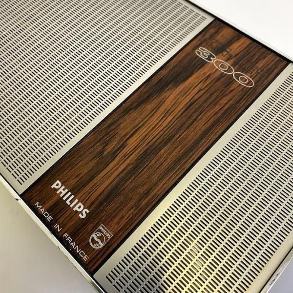 4: Retro Philips 300 mini portable record player