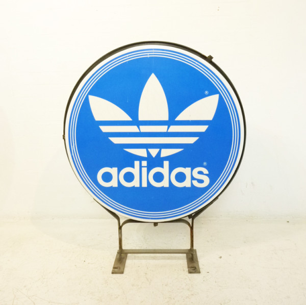 1: Large Addidas Sign