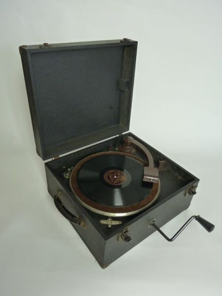 1: Vintage record player